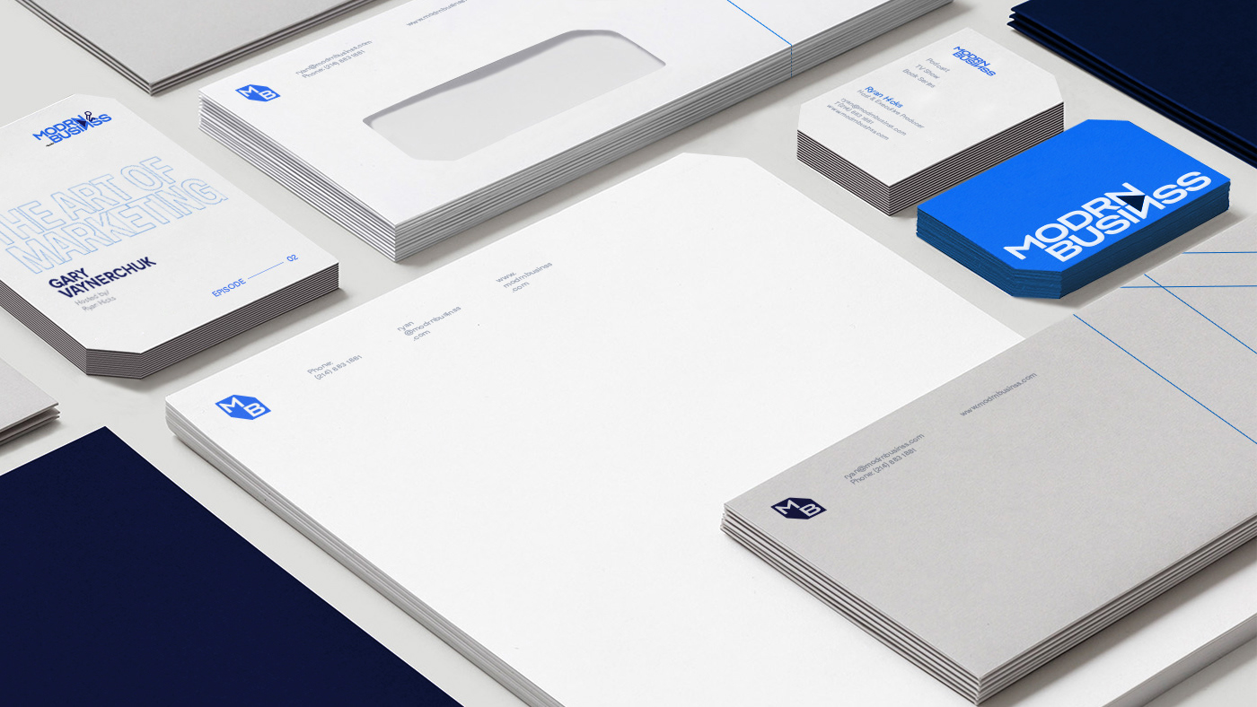 Modrn Business: Stationery