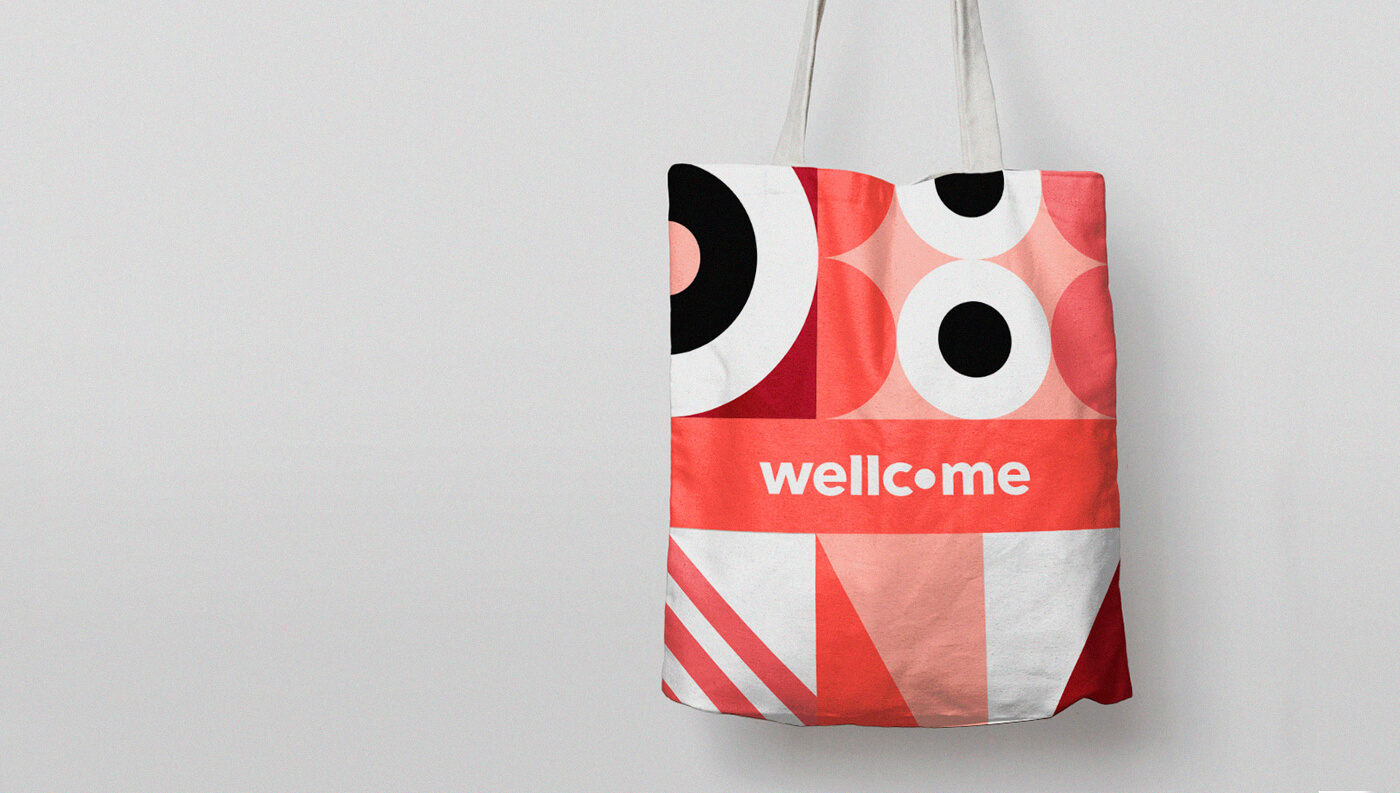 Wellcome: Pattern Bag