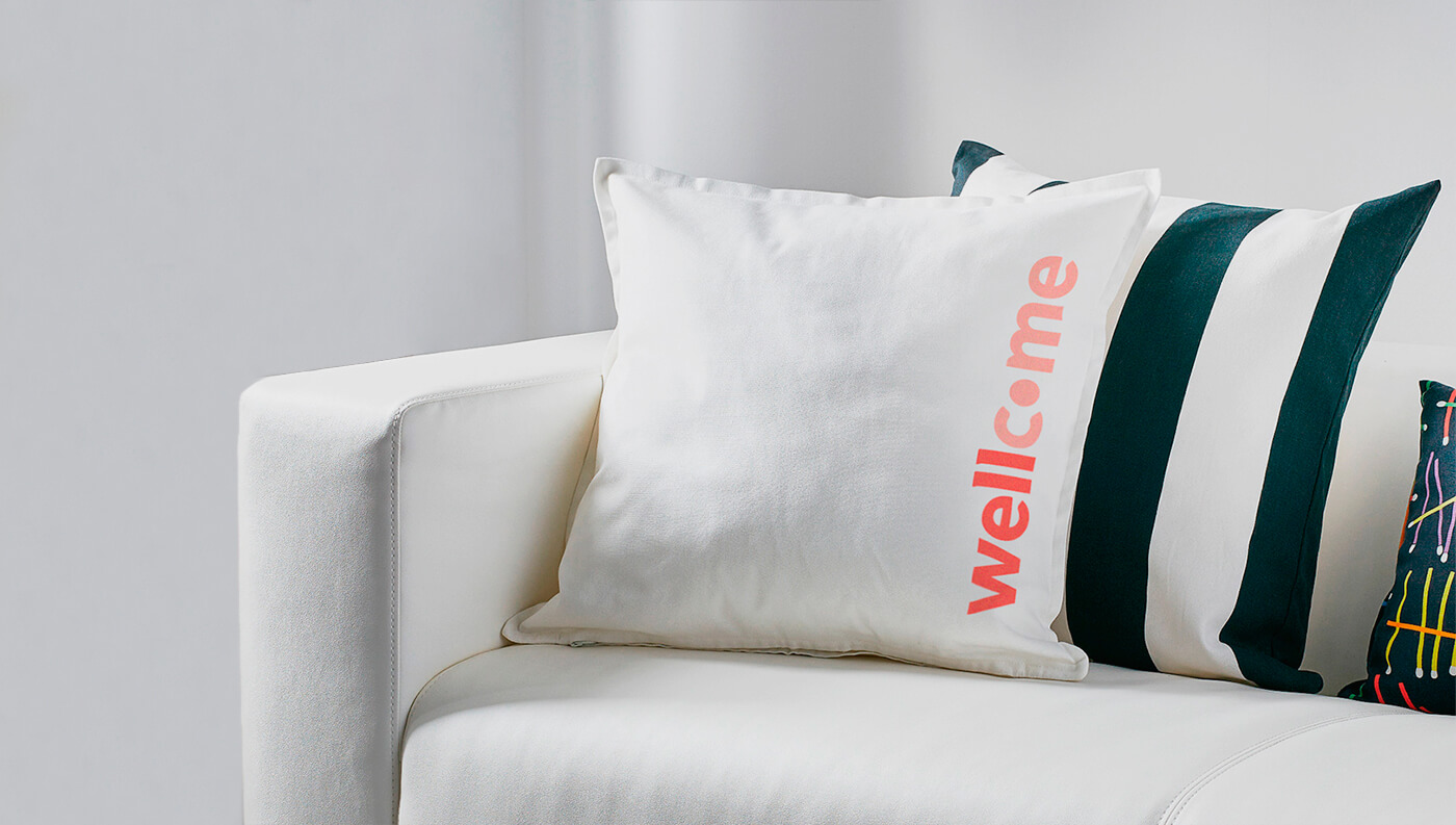 Wellcome: Pillow
