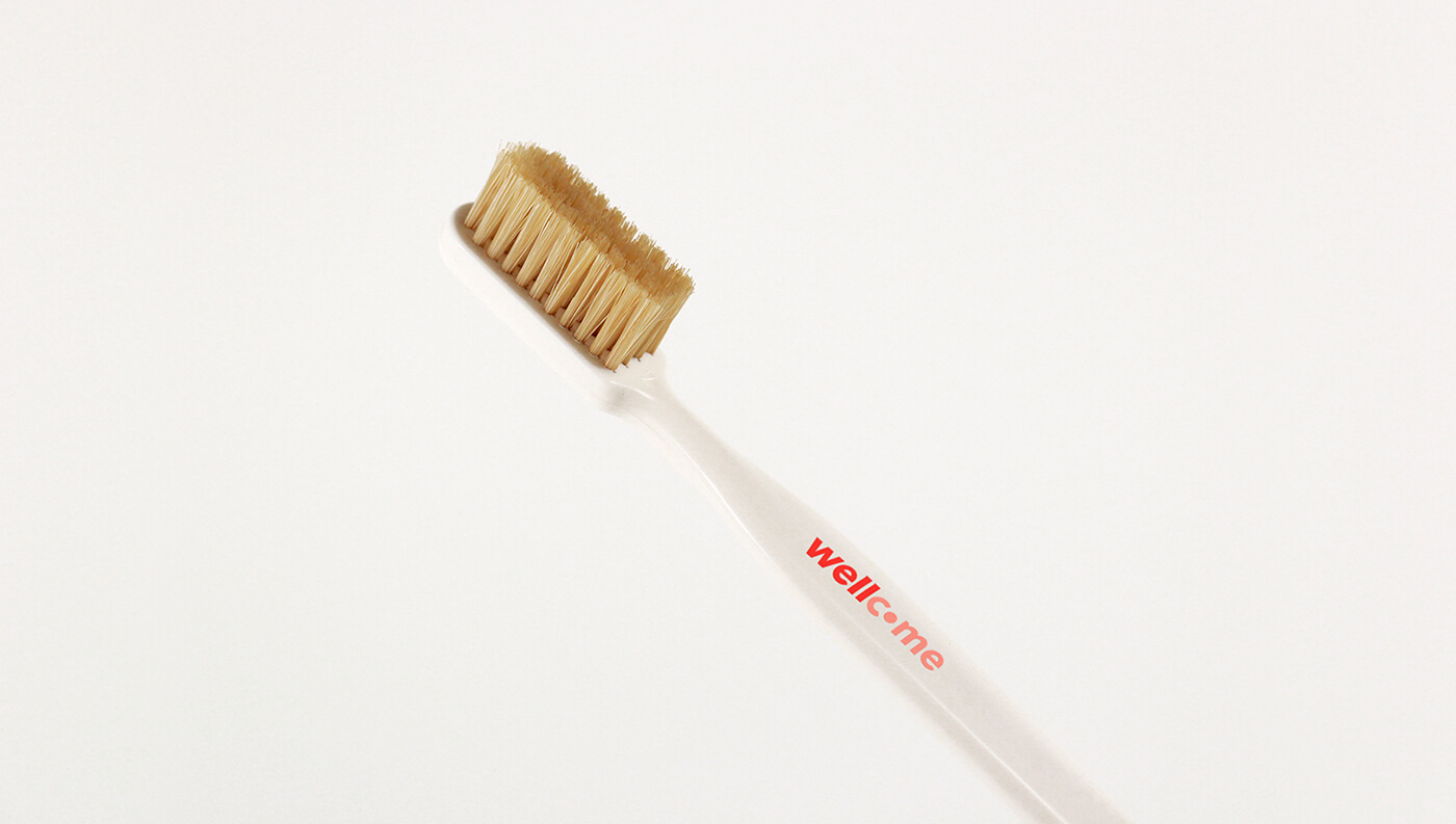 Wellcome: Toothbrush