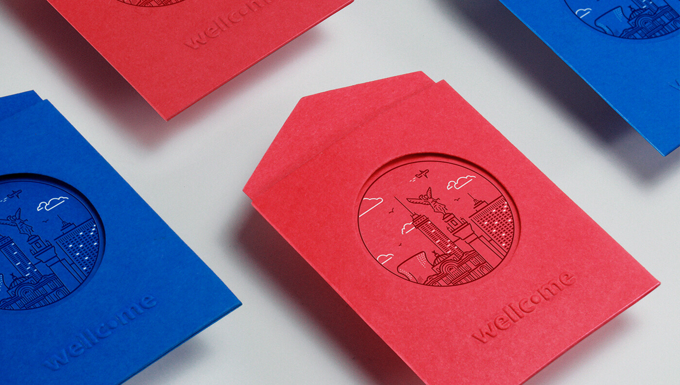 Wellcome: Business Cards Envelopes Details