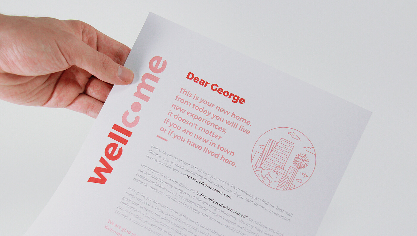 Wellcome: Welcoming Letter
