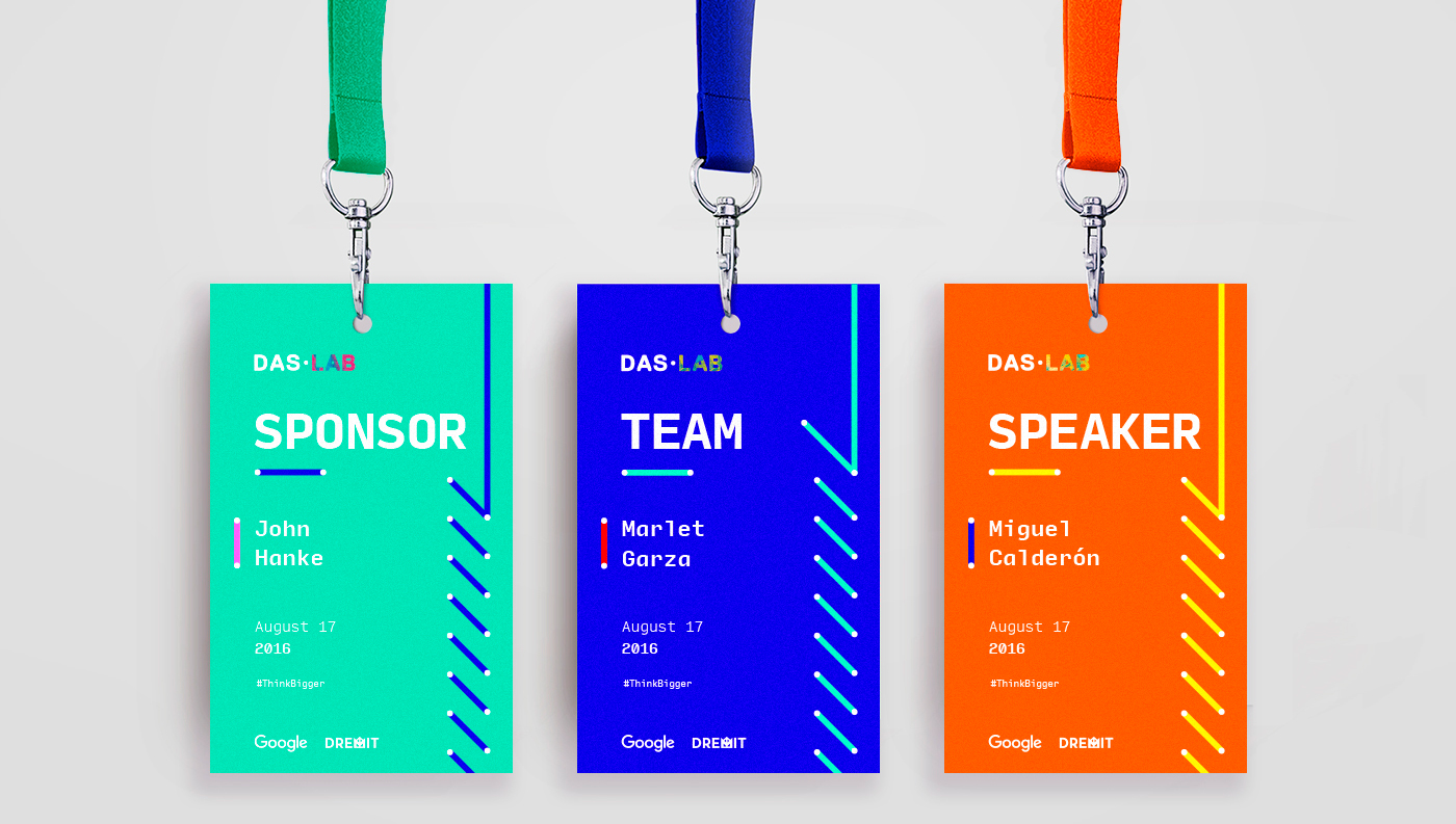 Das · Lab: Event Badges