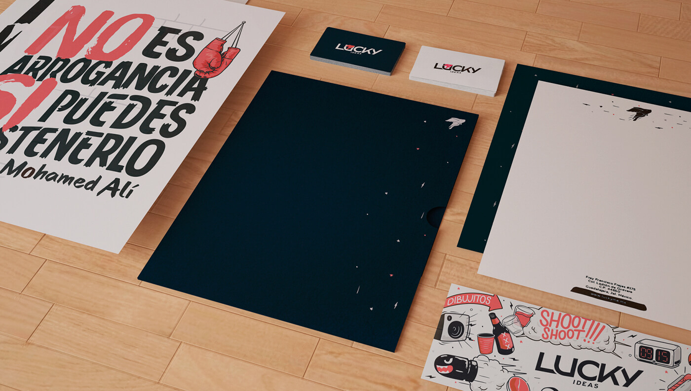 Lucky Ideas: Stationery Details